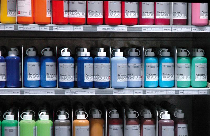 Farbflaschen ©PZ.BS