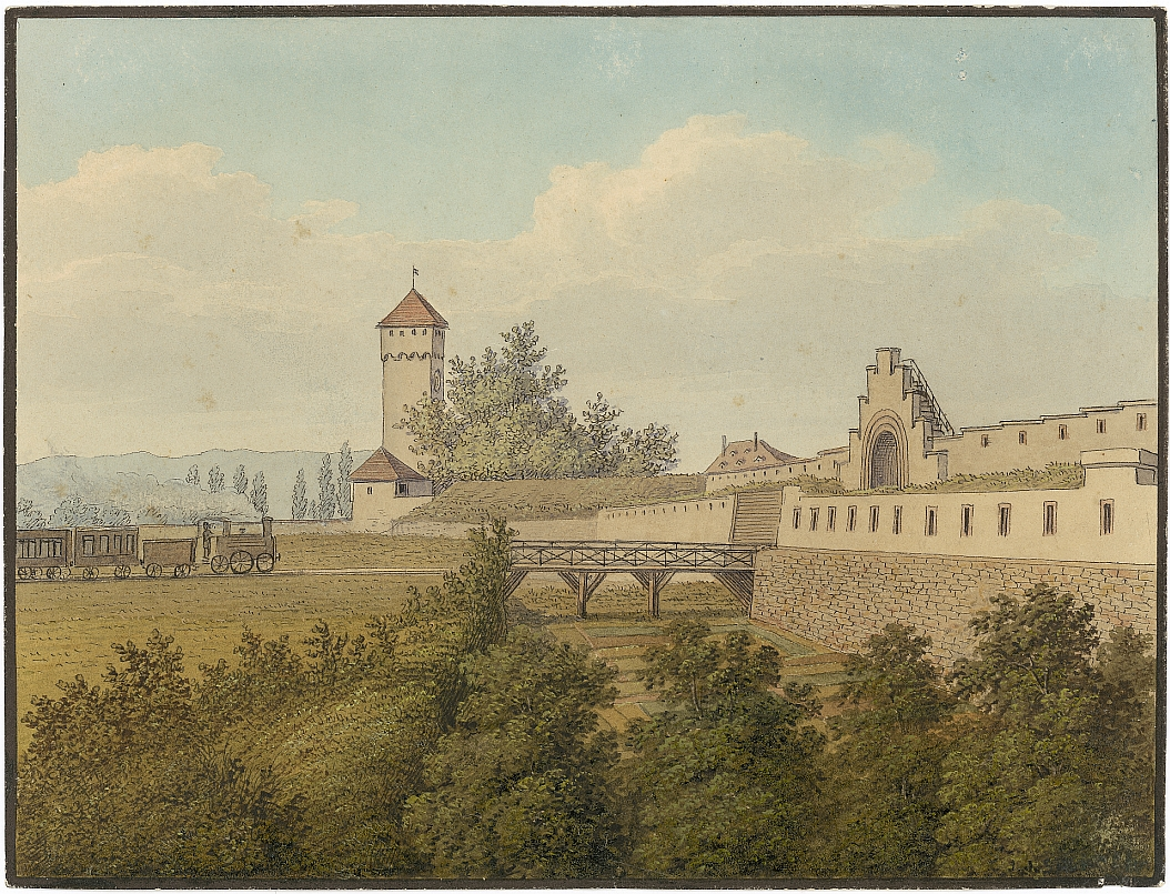 Eisenbahntor St. Johann Schn. 196 Staatsarchiv Basel-Stadt
