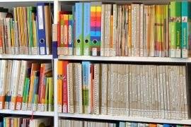 Bücher und Rechercheterminal ©PZ.BS